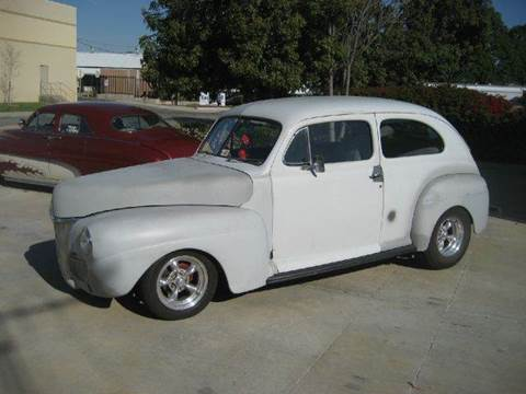1941 Ford 2 Door Sedan for sale at HIGH-LINE MOTOR SPORTS in Brea CA