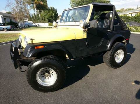 1977 Jeep CJ-5 for sale in Brea, CA