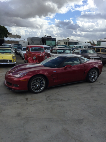 2010 Chevrolet Corvette for sale at HIGH-LINE MOTOR SPORTS in Brea CA