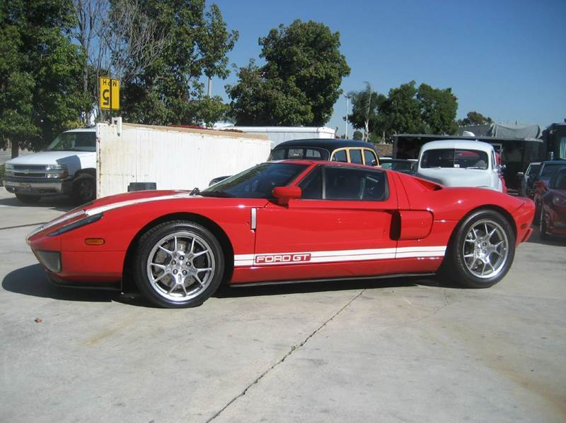 2005 Ford GT for sale at HIGH-LINE MOTOR SPORTS in Brea CA