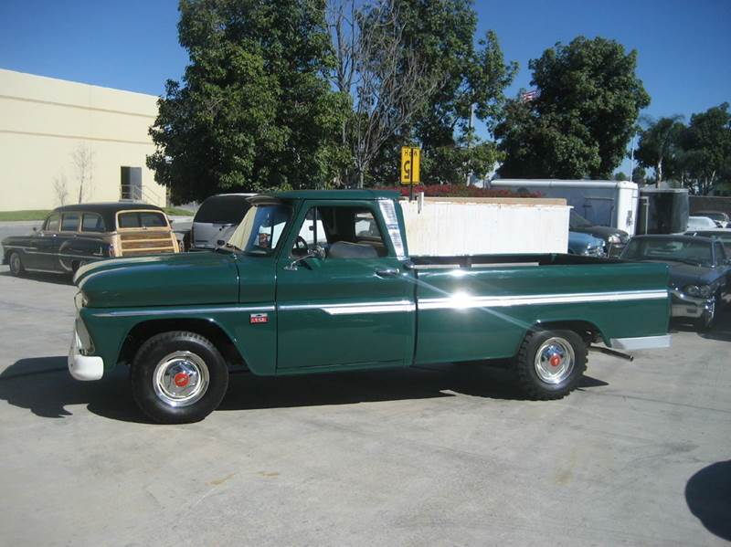 1966 Chevrolet C/K 10 Series for sale at HIGH-LINE MOTOR SPORTS in Brea CA