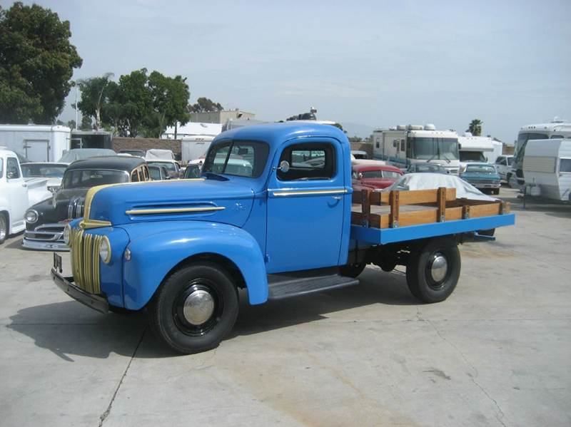 1946 Ford Super Deluxe Stake Bed for sale at HIGH-LINE MOTOR SPORTS in Brea CA