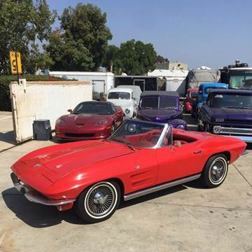 1964 Chevrolet Corvette for sale at HIGH-LINE MOTOR SPORTS in Brea CA
