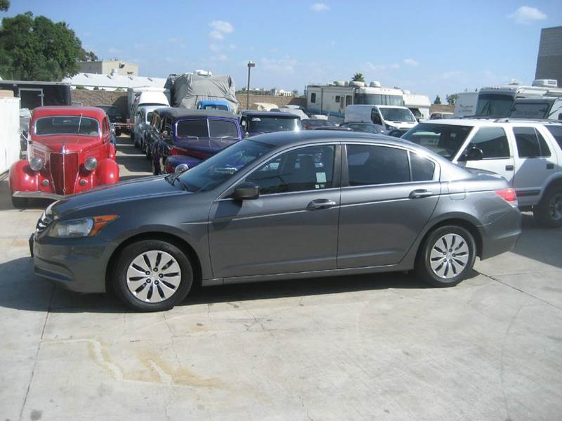 2012 Honda Accord for sale at HIGH-LINE MOTOR SPORTS in Brea CA