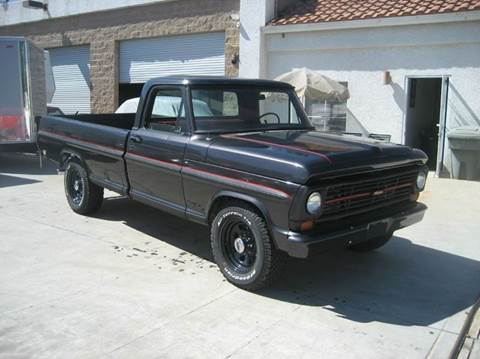1969 Ford F-250 for sale at HIGH-LINE MOTOR SPORTS in Brea CA