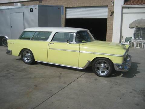 1955 Chevrolet Nomad for sale at HIGH-LINE MOTOR SPORTS in Brea CA