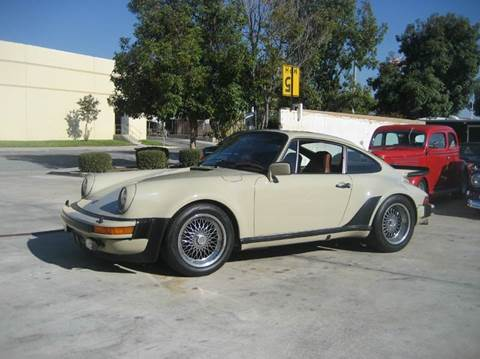 1977 Porsche 930 for sale at HIGH-LINE MOTOR SPORTS in Brea CA