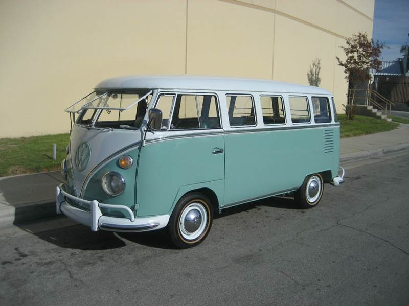 1963 Volkswagen Bus for sale at HIGH-LINE MOTOR SPORTS in Brea CA