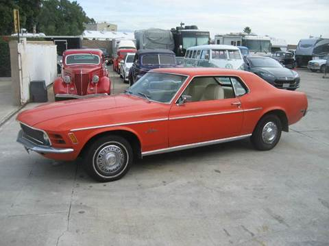 1970 Ford Mustang for sale at HIGH-LINE MOTOR SPORTS in Brea CA