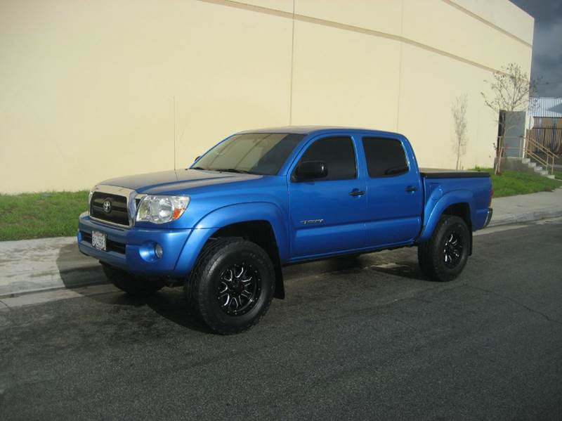 2008 Toyota Tacoma for sale at HIGH-LINE MOTOR SPORTS in Brea CA