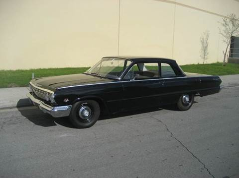 1963 Chevrolet Biscayne for sale at HIGH-LINE MOTOR SPORTS in Brea CA