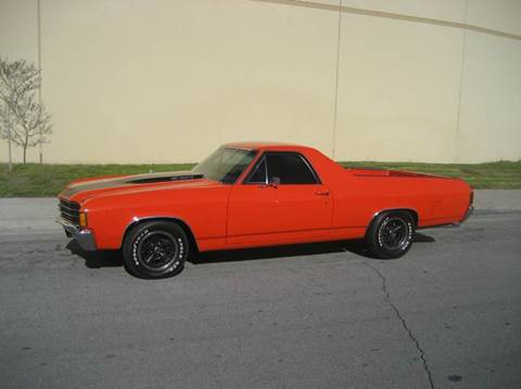 1972 Chevrolet El Camino for sale at HIGH-LINE MOTOR SPORTS in Brea CA