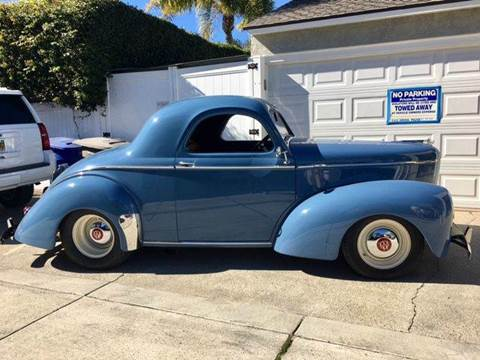 1941 Willys Coupe for sale in Brea, CA