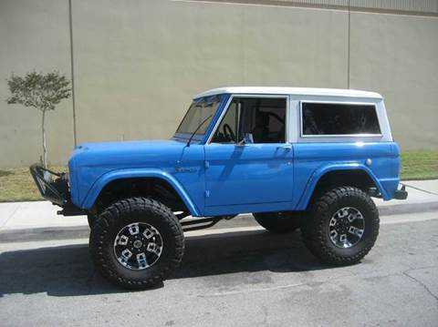 1974 Ford Bronco for sale at HIGH-LINE MOTOR SPORTS in Brea CA
