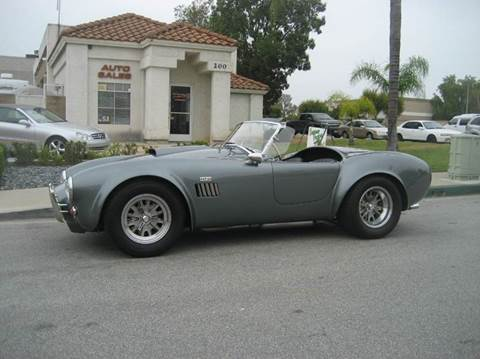 1965 Shelby Cobra for sale at HIGH-LINE MOTOR SPORTS in Brea CA