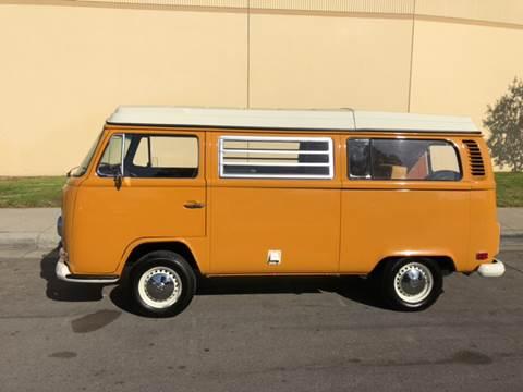1972 Volkswagen Camper Van for sale at HIGH-LINE MOTOR SPORTS in Brea CA