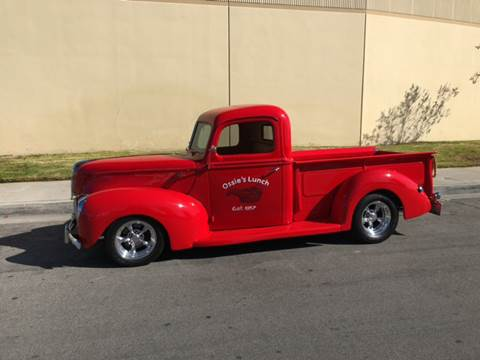 1940 Ford F-100 for sale at HIGH-LINE MOTOR SPORTS in Brea CA