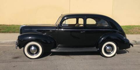 1940 Ford 2 Door Sedan for sale at HIGH-LINE MOTOR SPORTS in Brea CA