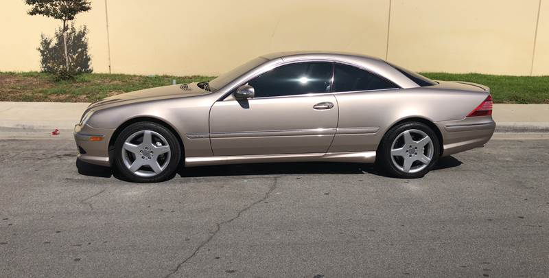 2005 Mercedes-Benz CL-Class for sale at HIGH-LINE MOTOR SPORTS in Brea CA