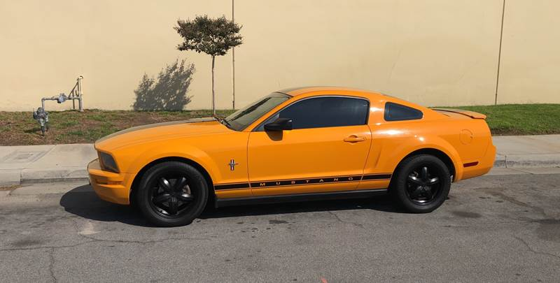2008 Ford Mustang for sale at HIGH-LINE MOTOR SPORTS in Brea CA