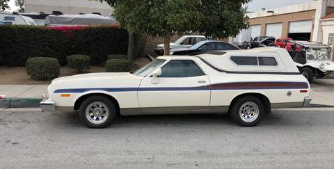 1974 Ford Ranchero for sale at HIGH-LINE MOTOR SPORTS in Brea CA