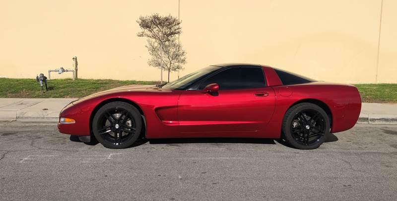 2000 Chevrolet Corvette for sale at HIGH-LINE MOTOR SPORTS in Brea CA