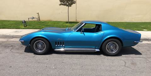 1969 Chevrolet Corvette for sale at HIGH-LINE MOTOR SPORTS in Brea CA