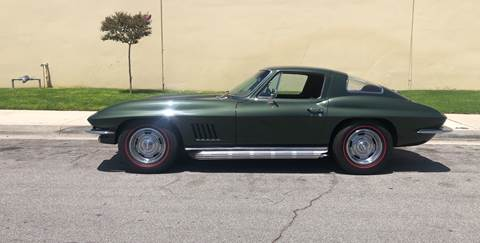 1967 Chevrolet Corvette for sale at HIGH-LINE MOTOR SPORTS in Brea CA