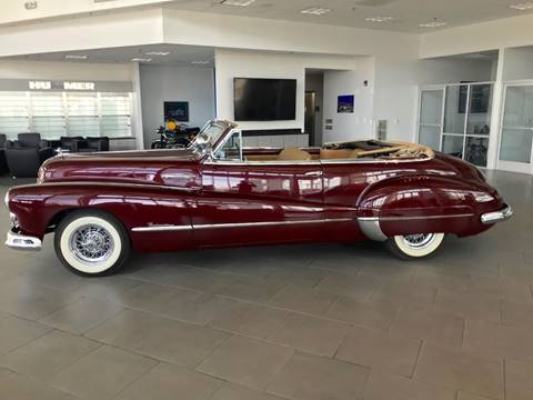 1948 Buick Roadmaster Convertible for sale at HIGH-LINE MOTOR SPORTS in Brea CA