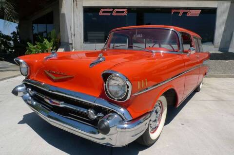 1957 Chevrolet Nomad for sale at HIGH-LINE MOTOR SPORTS in Brea CA