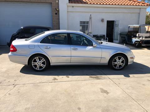 2006 Mercedes-Benz E-Class for sale at HIGH-LINE MOTOR SPORTS in Brea CA