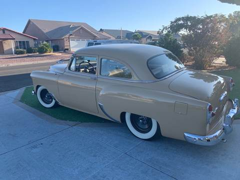 1953 Chevrolet 210 for sale at HIGH-LINE MOTOR SPORTS in Brea CA