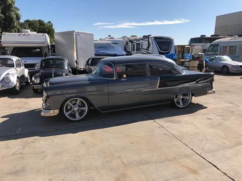 1955 Chevrolet Custom for sale at HIGH-LINE MOTOR SPORTS in Brea CA