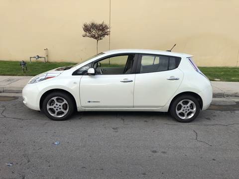 2012 Nissan LEAF for sale at HIGH-LINE MOTOR SPORTS in Brea CA