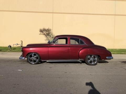 1949 Chevrolet Styleline 4 Door Custom for sale at HIGH-LINE MOTOR SPORTS in Brea CA