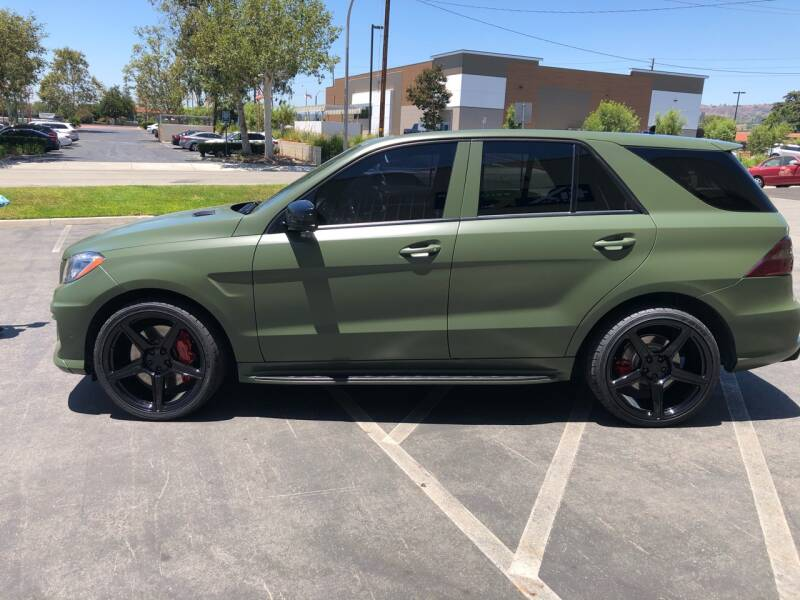 2012 Mercedes-Benz M-Class for sale at HIGH-LINE MOTOR SPORTS in Brea CA