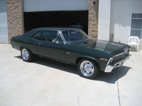 1969 Chevrolet Nova for sale at HIGH-LINE MOTOR SPORTS in Brea CA