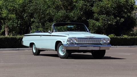 1962 Chevrolet Impala for sale at HIGH-LINE MOTOR SPORTS in Brea CA