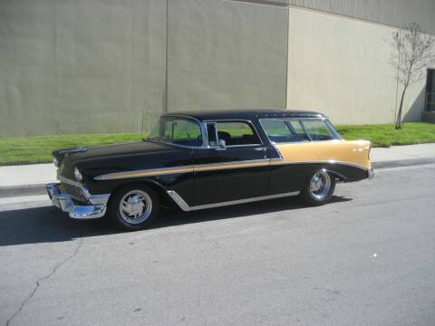 1956 Chevrolet Nomad for sale at HIGH-LINE MOTOR SPORTS in Brea CA