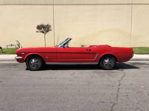 1965 Ford Mustang for sale at HIGH-LINE MOTOR SPORTS in Brea CA