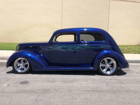 1937 Ford 2 Door Sedan Slant Back for sale at HIGH-LINE MOTOR SPORTS in Brea CA
