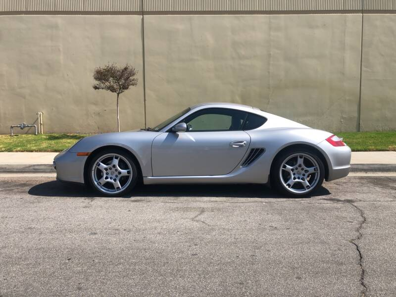 2007 Porsche Cayman for sale at HIGH-LINE MOTOR SPORTS in Brea CA