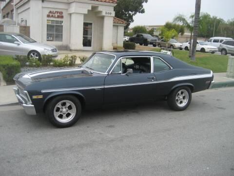 1972 Chevrolet Yenko Tribute Nova for sale at HIGH-LINE MOTOR SPORTS in Brea CA