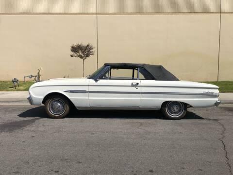 1963 Ford Falcon Futura Convertible for sale at HIGH-LINE MOTOR SPORTS in Brea CA
