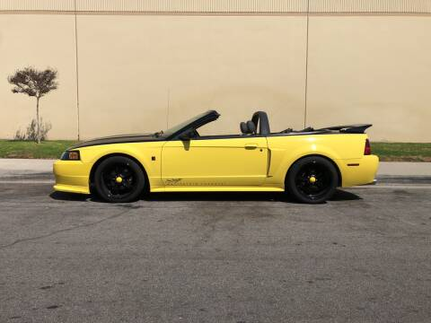 2003 Ford Mustang for sale at HIGH-LINE MOTOR SPORTS in Brea CA