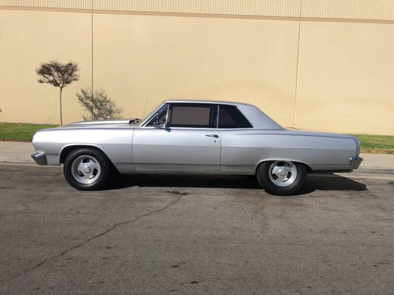 1965 Chevrolet Malibu for sale at HIGH-LINE MOTOR SPORTS in Brea CA