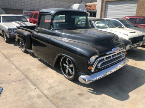 1957 Chevrolet Pick Up for sale at HIGH-LINE MOTOR SPORTS in Brea CA