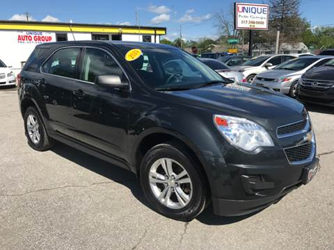 2014 Chevrolet Equinox for sale at Unique Auto Group in Indianapolis IN