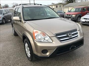 2005 Honda CR-V for sale at Unique Auto Group in Indianapolis IN