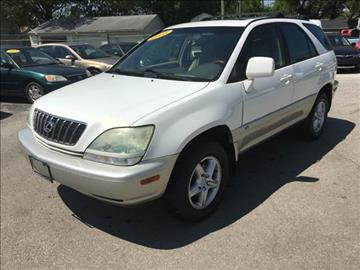 2003 Lexus RX 300 for sale at Unique Auto Group in Indianapolis IN